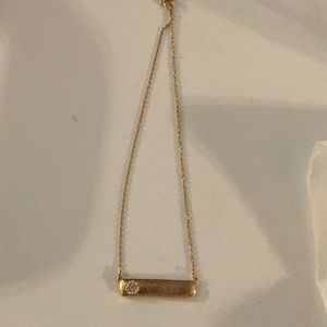 Brighton gold Bilbao bar necklace